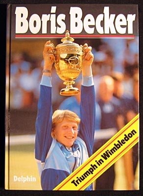 Boris Becker. Triumph in Wimbledon.