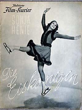 Die Eiskönigin. Sonja Henie. Illustrierter Film-Kurier Nr. 2807.
